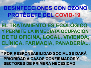 Desinfecciones Coronavirus